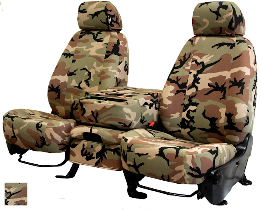 CalTrend Retro Camouflage Seat Covers