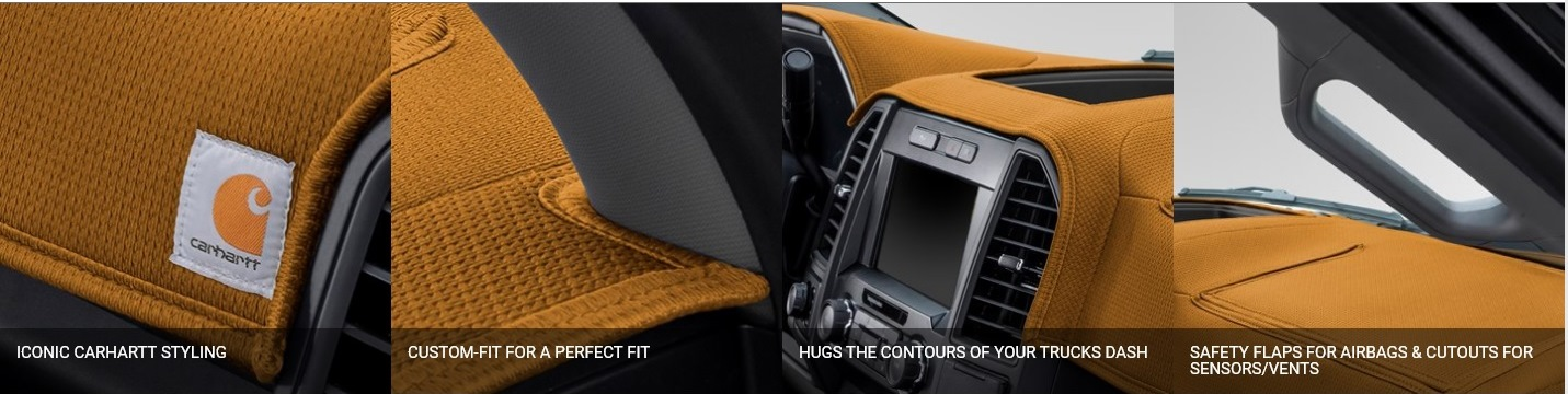 Carhartt Dashboard Covers