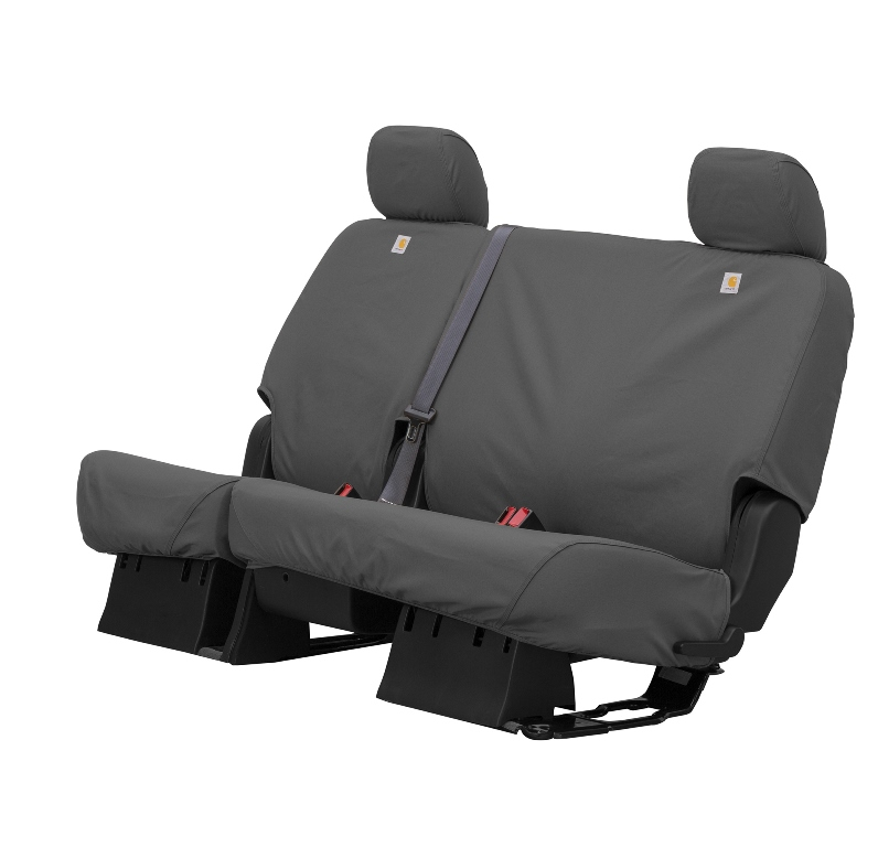Carhartt Seat Covers - Gravel Gray SeatSaver - Car Cover USA