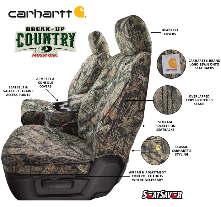 Carhartt Mossy Oak SeatSavers