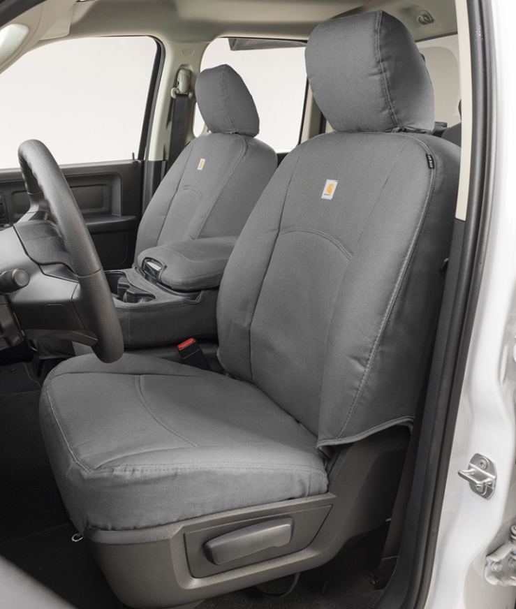 Carhartt Precision Fit Seat Cover Gray