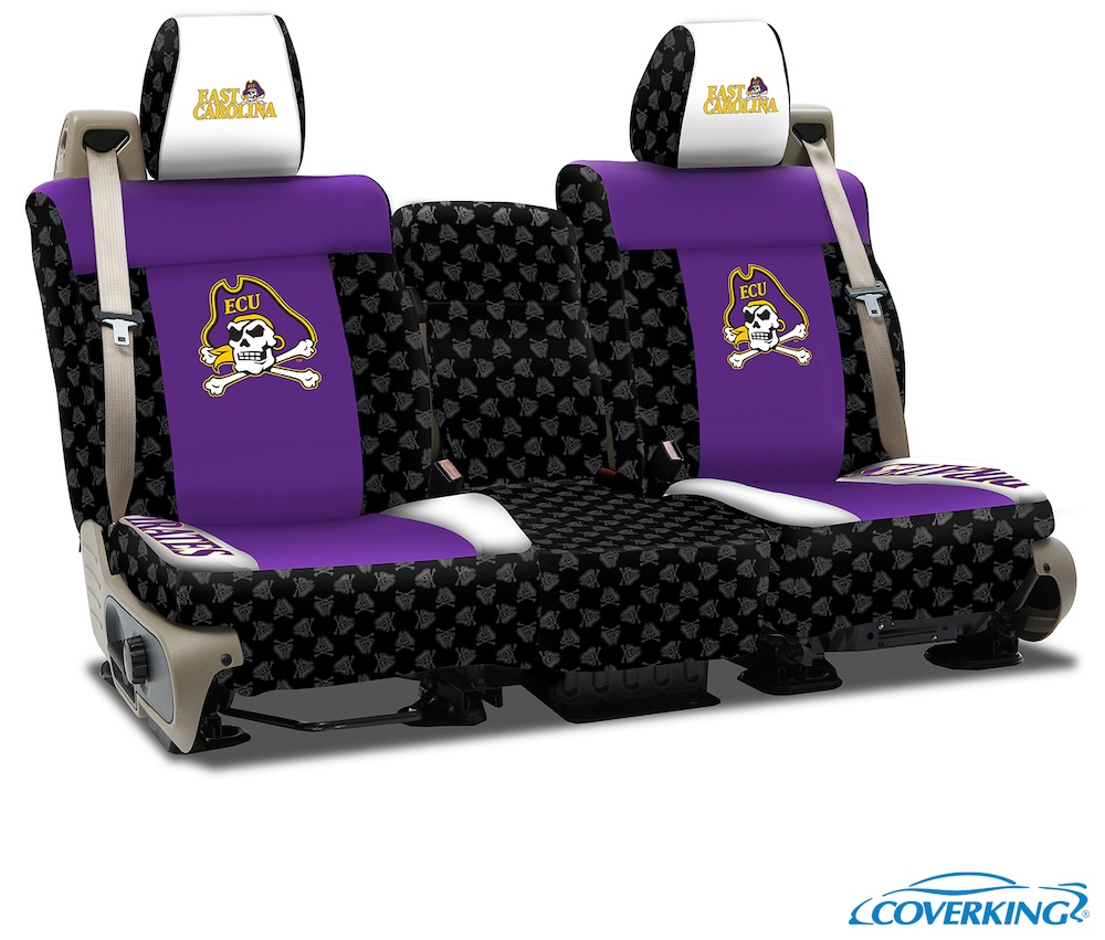 East Carolina College Seat Covers