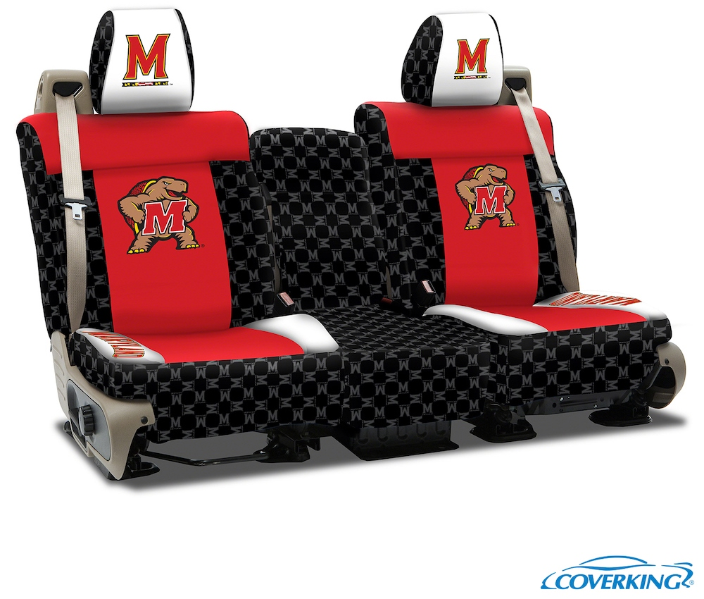 Maryland College Seat Covers