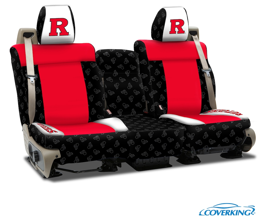 New Jersey Rutgers College Seat Covers