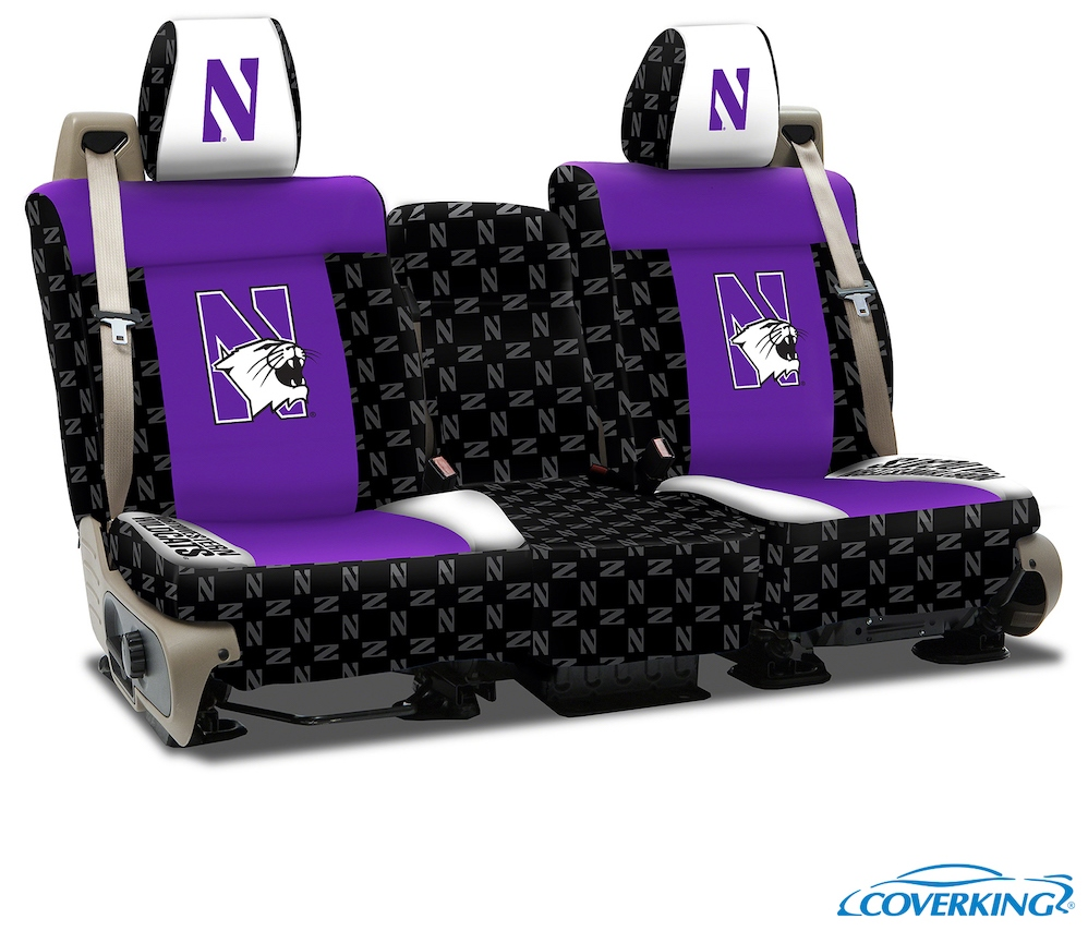 Northwestern College Seat Covers