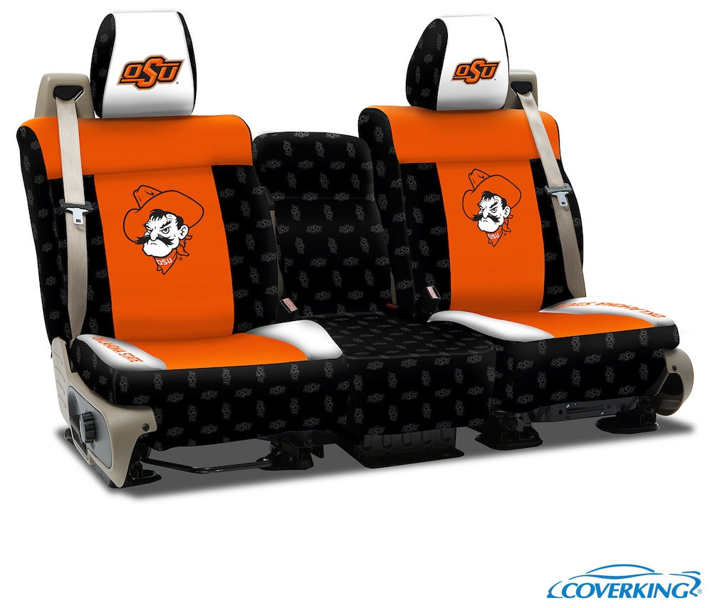 Oklahoma State College Seat Covers