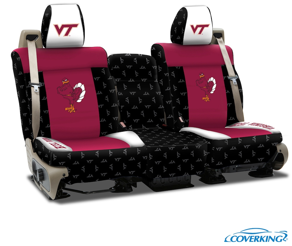 Virginia Tech College Seat Covers