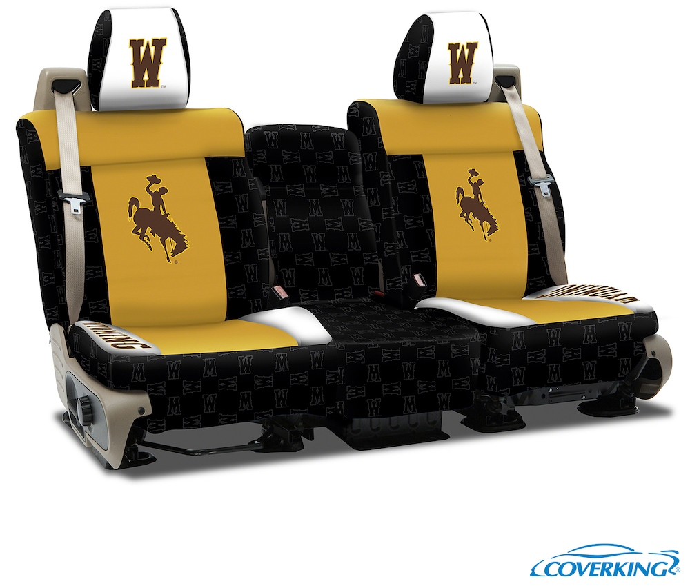 Wyoming College Seat Covers