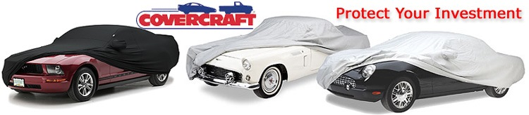 FS5418F5 Black Covercraft Custom Fit Car Cover for Select Plymouth PA Models Fleeced Satin