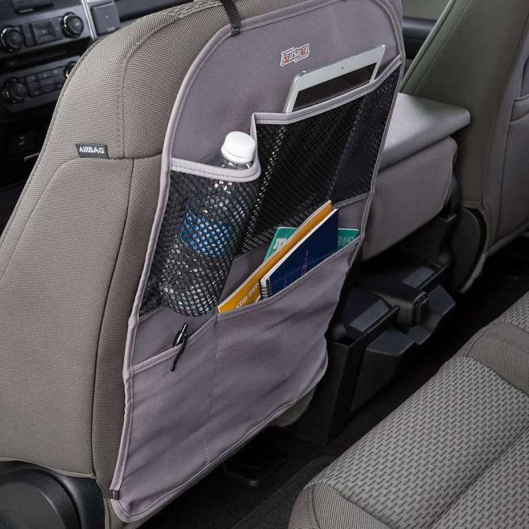 Coverking Seat Covers >> Covercraft SeatSaver Seat Back Organizer - Seat Back Protector