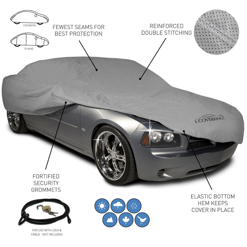 Coverking Universal Triguard Car Covers