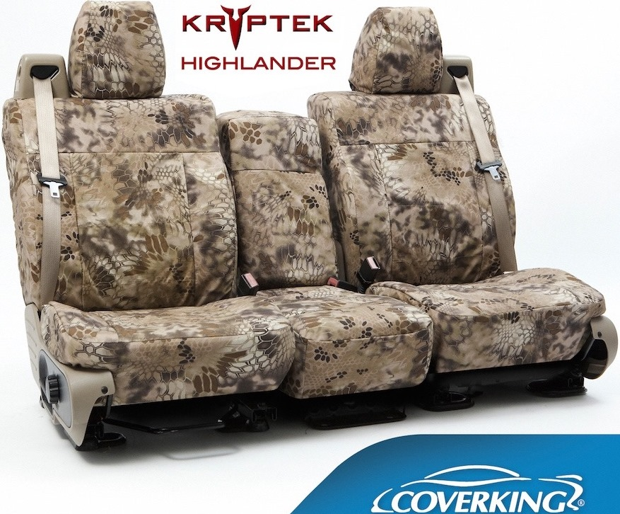 Coverking Ballistic Kryptek Seat Covers
