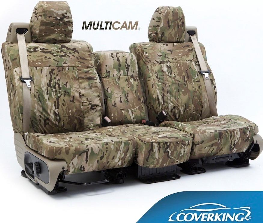Coverking Ballistic MultiCam Seat Covers