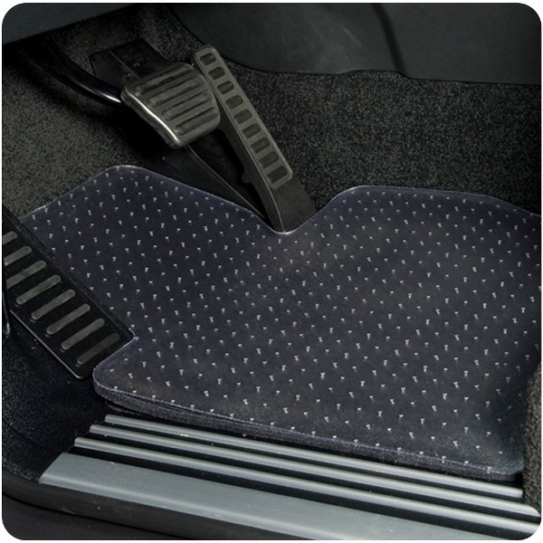 Coverking Clear Nibbed Designer Car Floor Mats