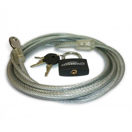 Coverking Lock And Cable Kit