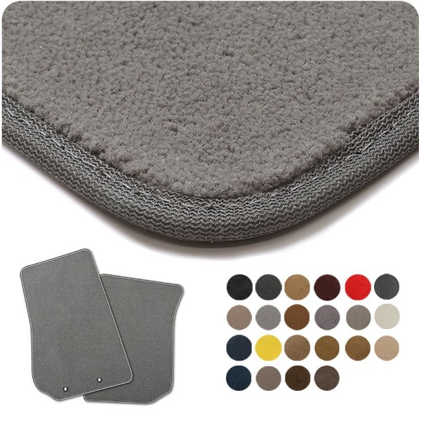 Coverking Premium Plush Designer Car Floor Mats
