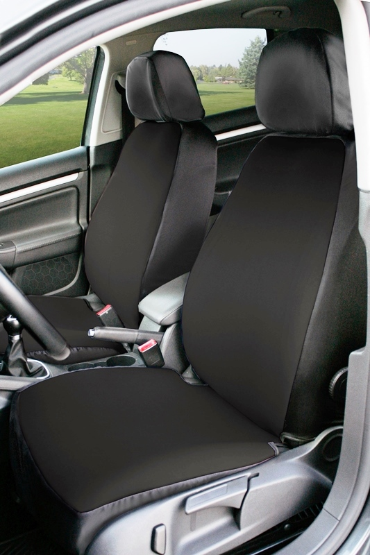Coverking Value Custom Car Seat Covers: Black
