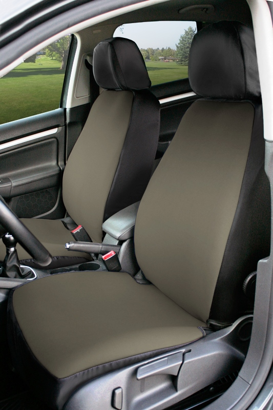 Coverking Value Custom Car Seat Covers: Charcoal