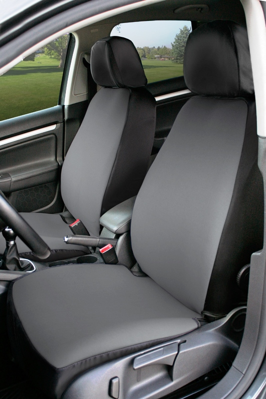 Coverking Value Custom Car Seat Covers: Gray