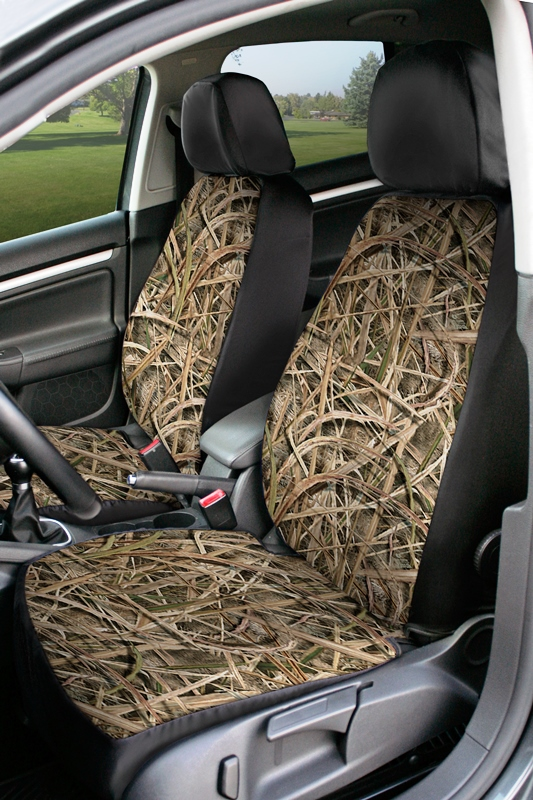 Coverking Value Custom Car Seat Covers: MossyOak Shadow Grass Blades