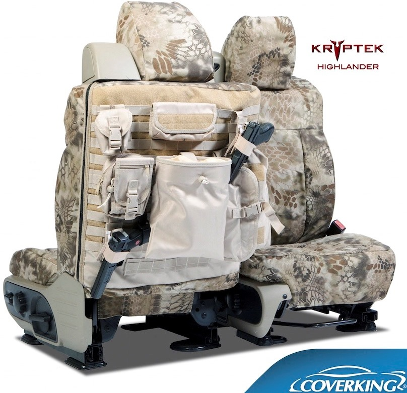 Coverking Ballistic Kryptek Tactical Seat Covers
