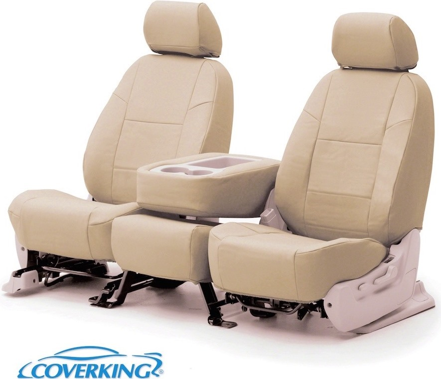 Coverking Leather Car Seat Covers