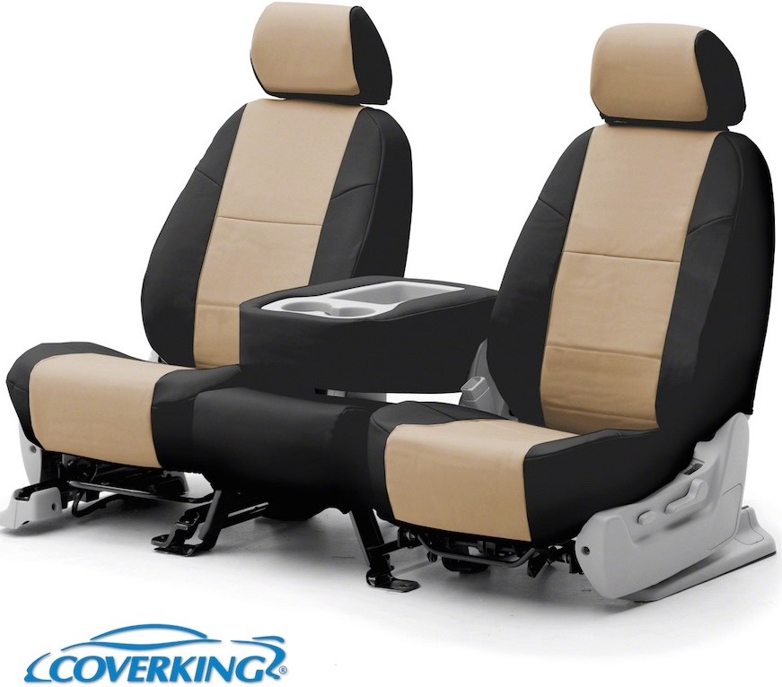 Coverking Leatherette Car Seat Covers