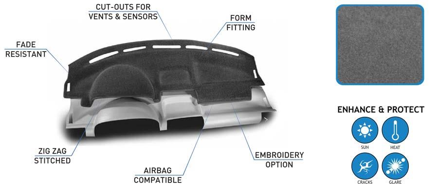 Coverking Molded DashBoard Covers