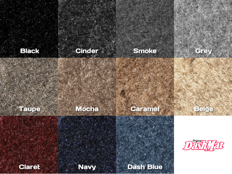 DashMat Polycarpet Color Samples
