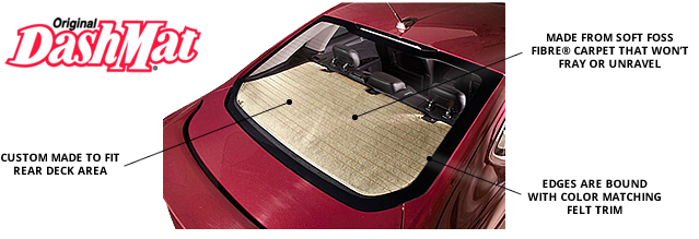 DashMat Rear Deck Covers