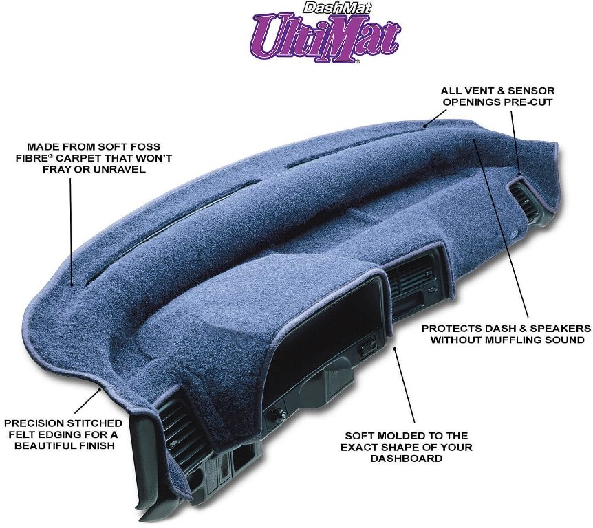 DashMat UltiMat Molded Dashboard Covers