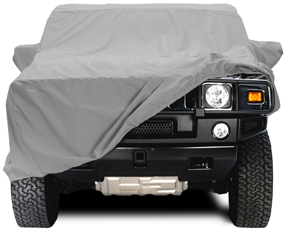 5 Layer Waterproof CoverMaster Gold Shield Car Cover for 2003-2009 Hummer H2 Pickup