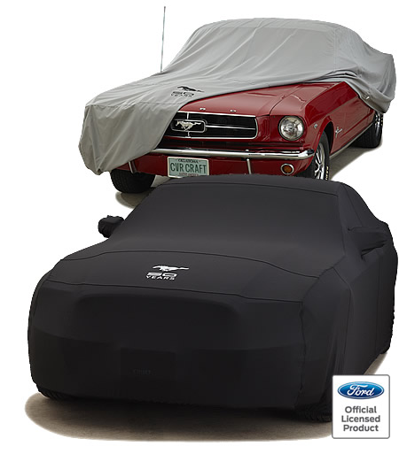 Ford Mustang 50 Years Car Cover