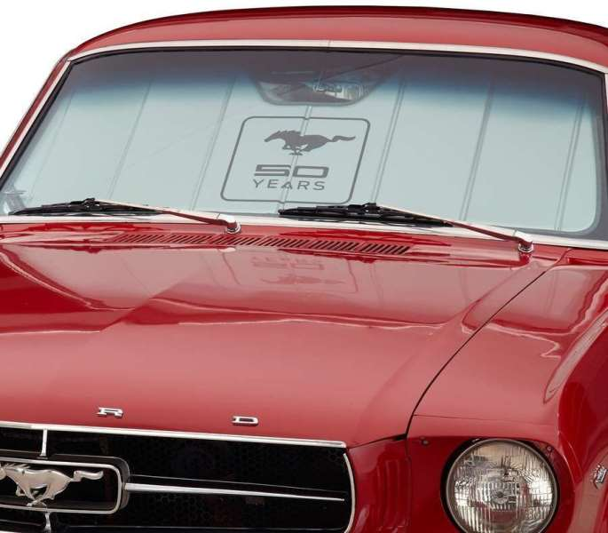 Covercraft Windshield Sun Shield 50th Anniversary Logo
