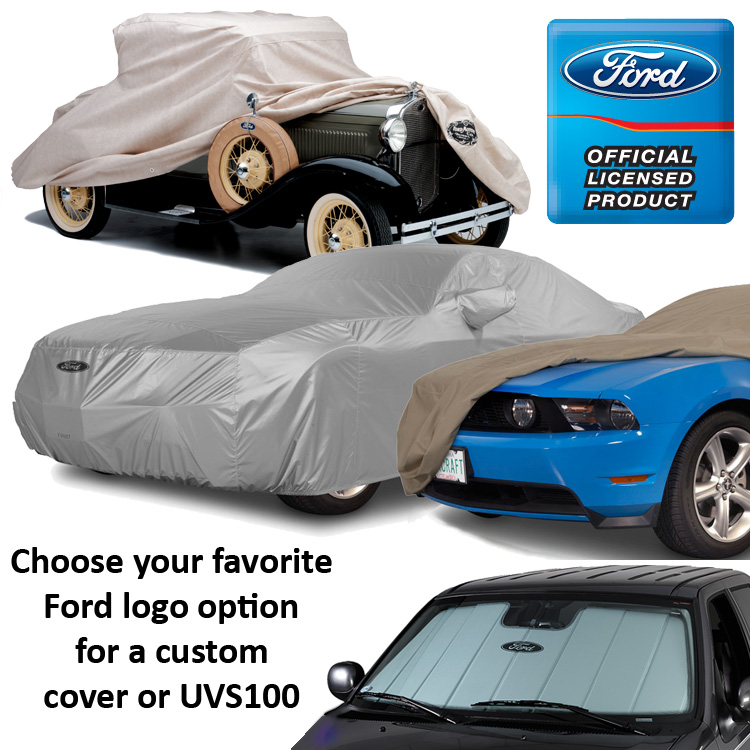 Covercraft Ford Logo Covers
