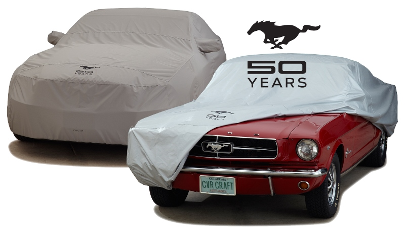 Covercraft Ford Mustang 50th Anniversary Custom Car Cover