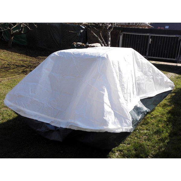 Rhino Shelter Motorcycle Cover Cycle Pocket